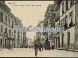 Calles de argüelles y jovellanos, oviedo (asturias)