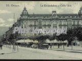 Plaza de la escandalera y calle uría, oviedo (asturias)