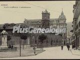 Plaza y universidad, oviedo (asturias)