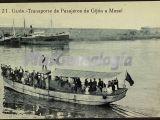 Transporte de pasajeros de gijón a musel, gijón (asturias)