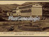 Monumento a los caídos, ayuntamiento, escuelas municipales, auxilio social y frente de juventudes de arenys de munt (barcelona)