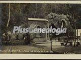 Las Fuentes y la Gruta de Lourdes de Arenys de Munt (Barcelona)