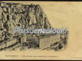 Vista General del Monasterio de Montserrat  y sus aposentos (Barcelona)