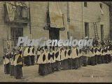 Niños Rezando el Rosario Vespertino de Montserrat (Barcelona)