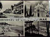 Collage de recuerdo de Canet de Mar (Barcelona)