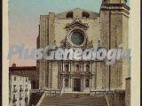 Escalinata y fachada de la catedral de girona