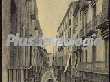 Vista vertical de la calle ciudadanos de girona