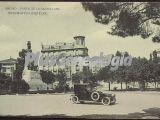 Paseo de la Castellana y Monumento a Castelar en Madrid