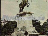 Plaza de Oriente - Estatua de Felipe IV en Madrid