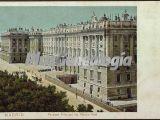 Fachada Principal del Palacio Real en Madrid