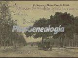 Paseo de Coches del Parque del Retiro en Madrid