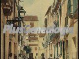 Una calle y gentes de córdoba