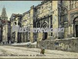 Muros exteriores de la mezquita de córdoba