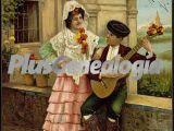 Tipos andaluces tocando guajiras en sevilla