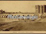 Puente romano y torre de carraola en córdoba