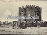 Vista genera del castillo romano de la calahorra de córdoba