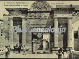 Puerta de entrada a la ciudad de córdoba