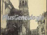 Torre de la catedral de córdoba y virge de los faroles