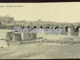Calahorra. puente y molinos romanos