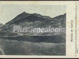 Vista general de clavijo: pueblo situado a 16 km de logroño (la rioja)