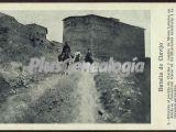 Entrada al pueblo de clavijo y camino de monte laturce (la rioja)