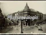 Plaza de españa y calle hurtado de amezaga de bilbao