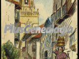 Torre de la iglesia, fuenterrabía (gupuzcoa)