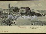 Vista del pueblo, fuenterrabía (gupuzcoa)