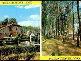 Jardines y parque infantil de fuentepelayo (segovia)