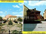 Plaza de la fuente y jardines de fuentepelayo (segovia)