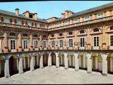 Patio de armas del palacio real de riofrío (segovia)