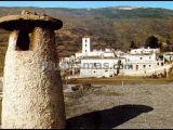 Detalle chimenea en la alpujarra (granada)