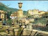 Fuente de las barricas en azcoitia (guipúzcoa)