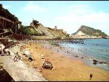 La playa de guetaria (guipúzcoa)