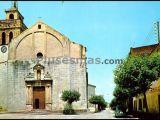 Plaza de la iglesia y calle calvo sotelo (gerona)