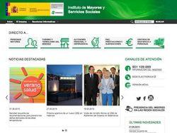 El IMSERSO renueva su página web