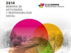 Amma publica su Memoria 2014 de Actividades y Responsabilidad Social