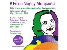V Fórum Mujer y Menopausia en Madrid