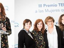 Elvira Lindo ganadora del 'III Premio TENA a las Mujeres que Triunfan'