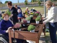 La residencia Amma Mutilva (Navarra) pone en marcha un innovador huerto terapéutico