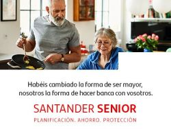 La nueva campaña del Banco Santander: por y para mayores 'jóvenes'
