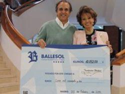 Grupo BALLESOL ayuda a los niños enfermos de cáncer de la Fundación Aladina
