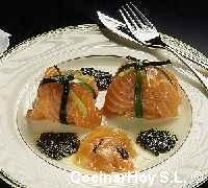 Ataditos de salmón