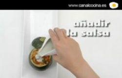 Vídeo receta: calabacín relleno de pisto