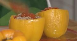 Video receta pimientos rellenos