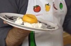 Video receta huevos fritos dulces