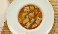 Video receta de marmitako de pescado
