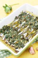 Saldinas con manto verde