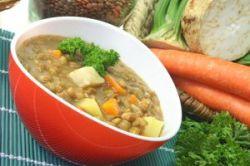 Lentejas con patata y zanahoria