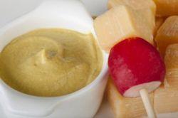 Salsa de mostaza picante